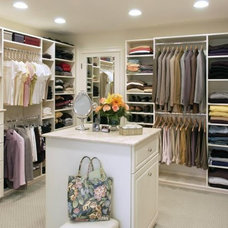 Traditional Closet by Closet Solutions