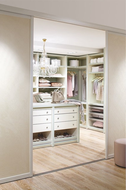 "Traditional Closet Walk in closet from ""CABINET"", Germany"