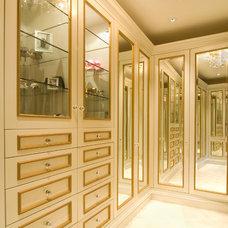 Traditional Closet by De Mattei Construction
