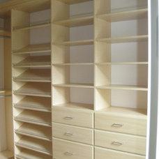 Contemporary Closet by New Closet