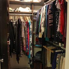Contemporary Closet by KM Decor