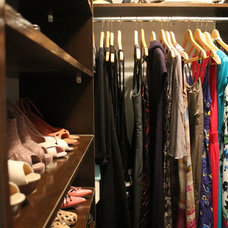 Contemporary Closet by KM Decor