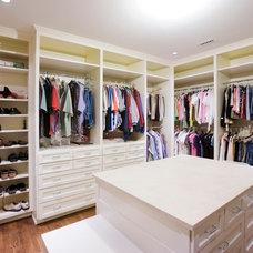 Traditional Closet by HK Contractors LLC