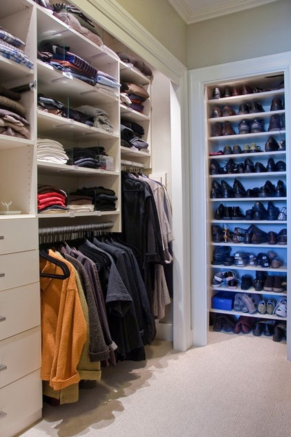 Traditional Closet by BMF CONSTRUCTION