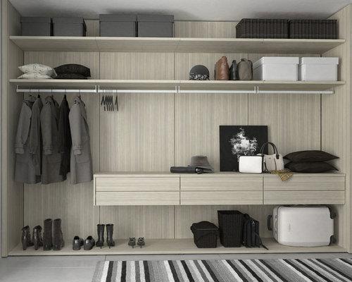 Cabina Armadio Nel York : Foto e idee per cabine armadio cabine armadio moderne new york