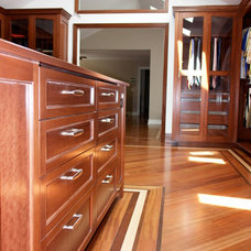 Traditional Closet by Ugol Woodworks