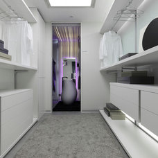 Contemporary Closet by Isolina Mallon Interior Design