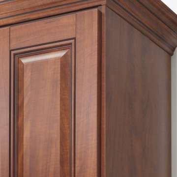 Walk-In Closet With Crown Molding