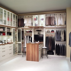 Contemporary Closet by Storage Options & Solutions, Inc.