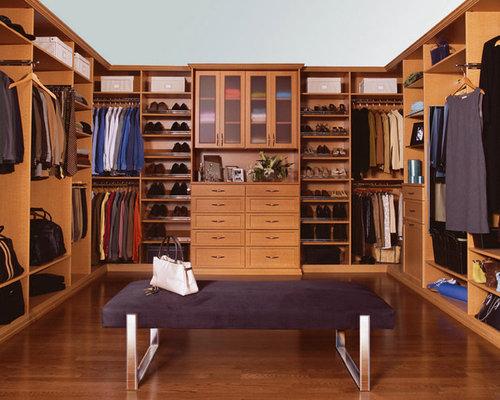 Wood Finish Dressing Room, Chappaqua, NY