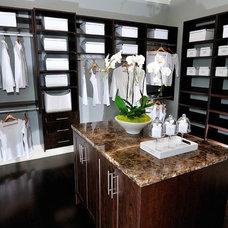 Contemporary Closet by Tavan Group