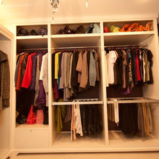 Traditional Closet by McBurney Junction