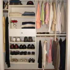 Traditional Closet by Closet Space LLC