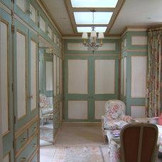 Traditional Closet by Kim Comstock Decorative Artist