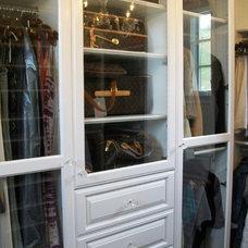 Traditional Closet by CustomBuilt-ins.com / CFM Company Inc.