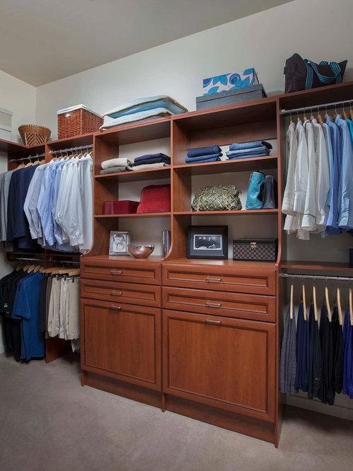 Elegant Walk In Closet Photo In Phoenix
