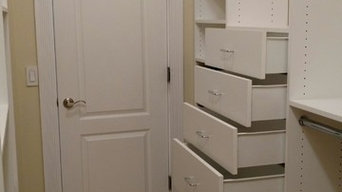 Washingtonville, NY Walk In Closet with angled walls