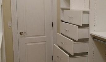 Washingtonville, NY Walk In Closet with angled walls