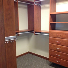 Contemporary Closet by Storage by Design