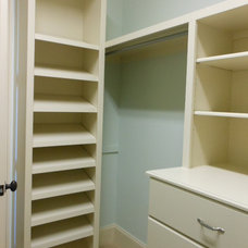 Traditional Closet by Marty Daniels Construction
