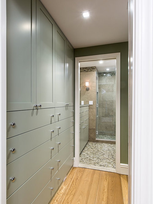 Walk Through Closet Houzz