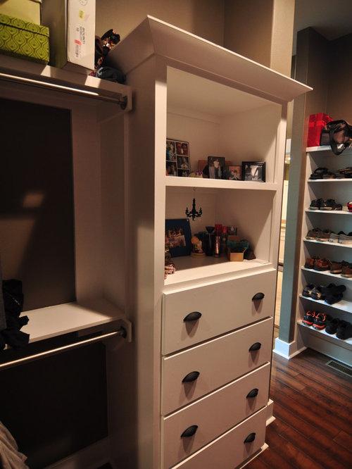 Idee e foto di armadi e cabine armadio contemporanei - Foto di cabine armadio ...