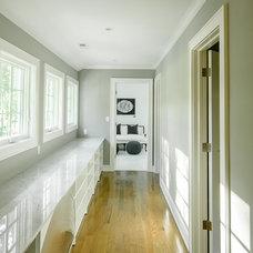 Farmhouse Closet by Thiel Architecture + Design
