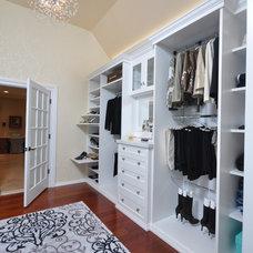 Contemporary Closet by Affordable Closets Plus, LLC