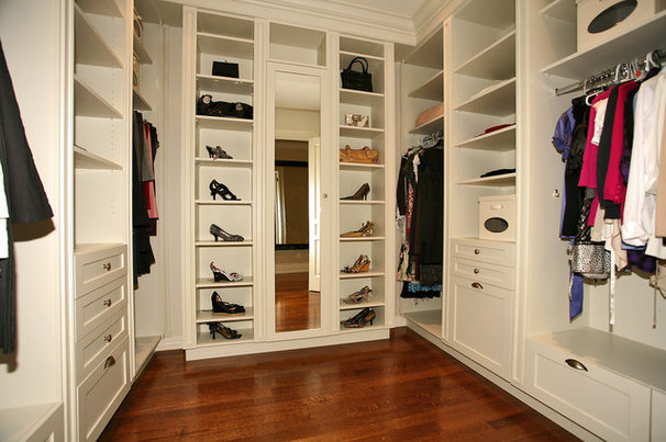 Traditional Closet by Foremost Construction Inc
