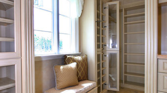 White Wood Closets
