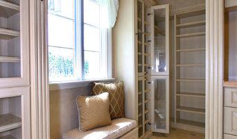 White Wood Closets