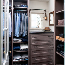 Traditional Closet by JWT Associates