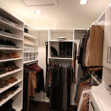 Contemporary Closet by Techline Furniture, Cabinetry & Closets