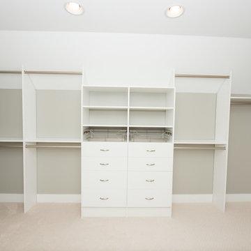 Winfield Master Bedroom Closet