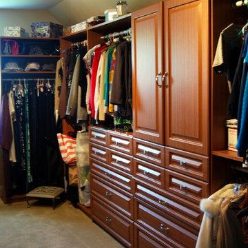 Winter Cherry Closet System