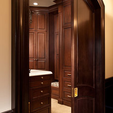 Traditional Closet by Busby Cabinets