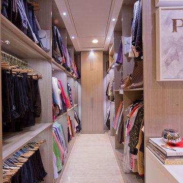 Woman's Dream Walk In Closet