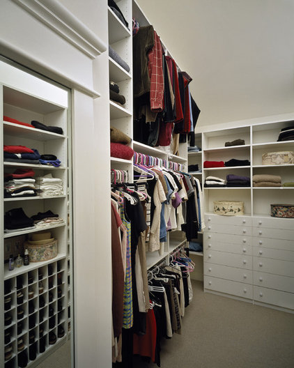 Contemporary Closet by Witt Construction
