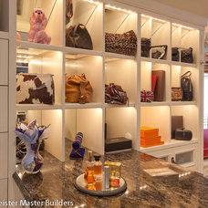 Traditional Closet by Woodmeister Master Builders