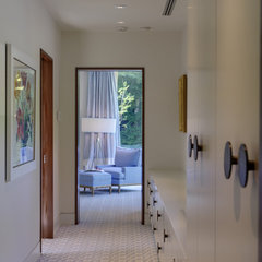 contemporary closet by Ziger/Snead Architects