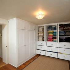 Traditional Closet by PGM Contracting