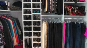 Wrap around Walk-In Closet