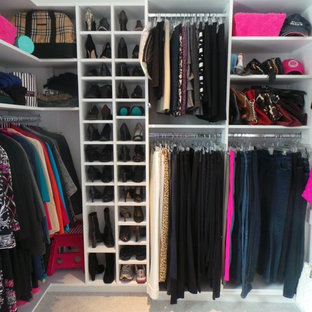 Wrap around Walk-In Closet