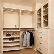 Contemporary Closet by Garrison Hullinger Interior Design Inc.