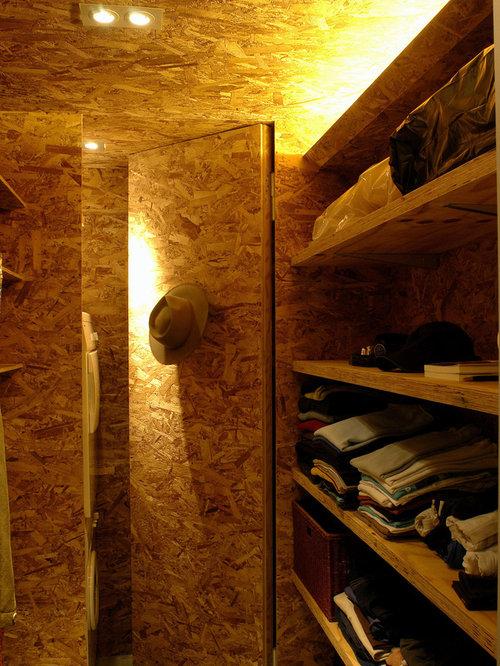 Osb Plywood Wall Houzz