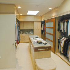 Modern Closet by mark beck associates- architects, LLC