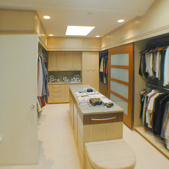 modern closet by mark beck associates- architects, LLC