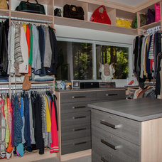 Contemporary Closet by Whitney Lyons