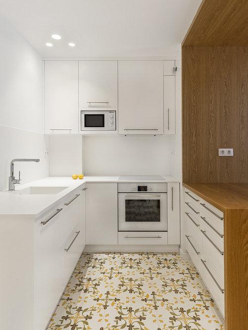 Ideas para cocinas | Fotos de cocinas pequeñas con fregadero integrado
