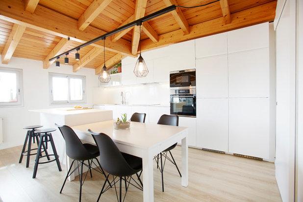 Phototh que ces 60 cuisines blanches sont tout sauf for Cuisines design industries saint philbert de bouaine